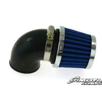 Motorkerékpár légszűrő SIMOTA 90 fok 35mm JS-8243-5